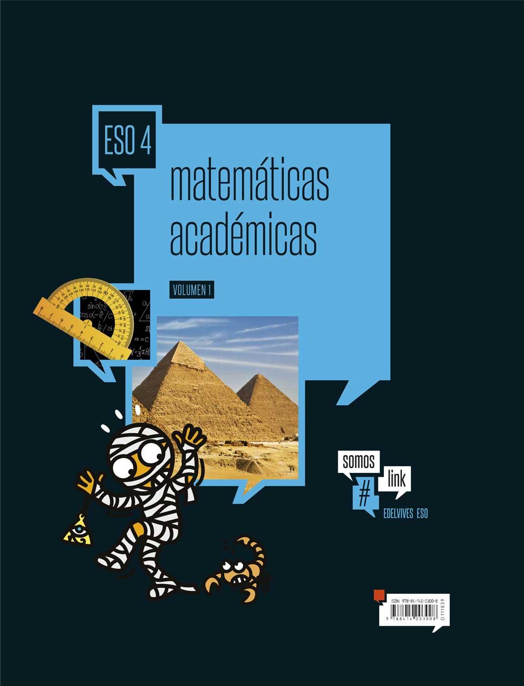 Matemáticas Académicas 4.º ESO - Edelvives
