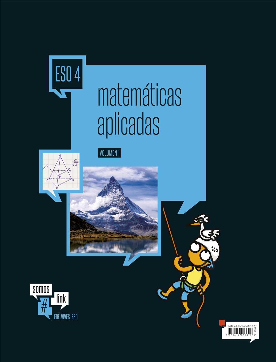 Matemáticas Aplicadas 4.º ESO - Edelvives