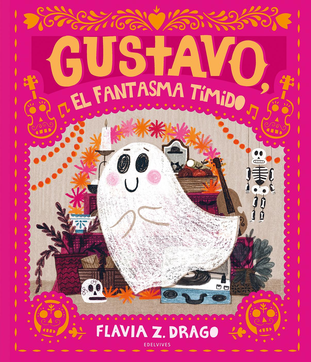 Gustavo, el fantasma tímido - Edelvives
