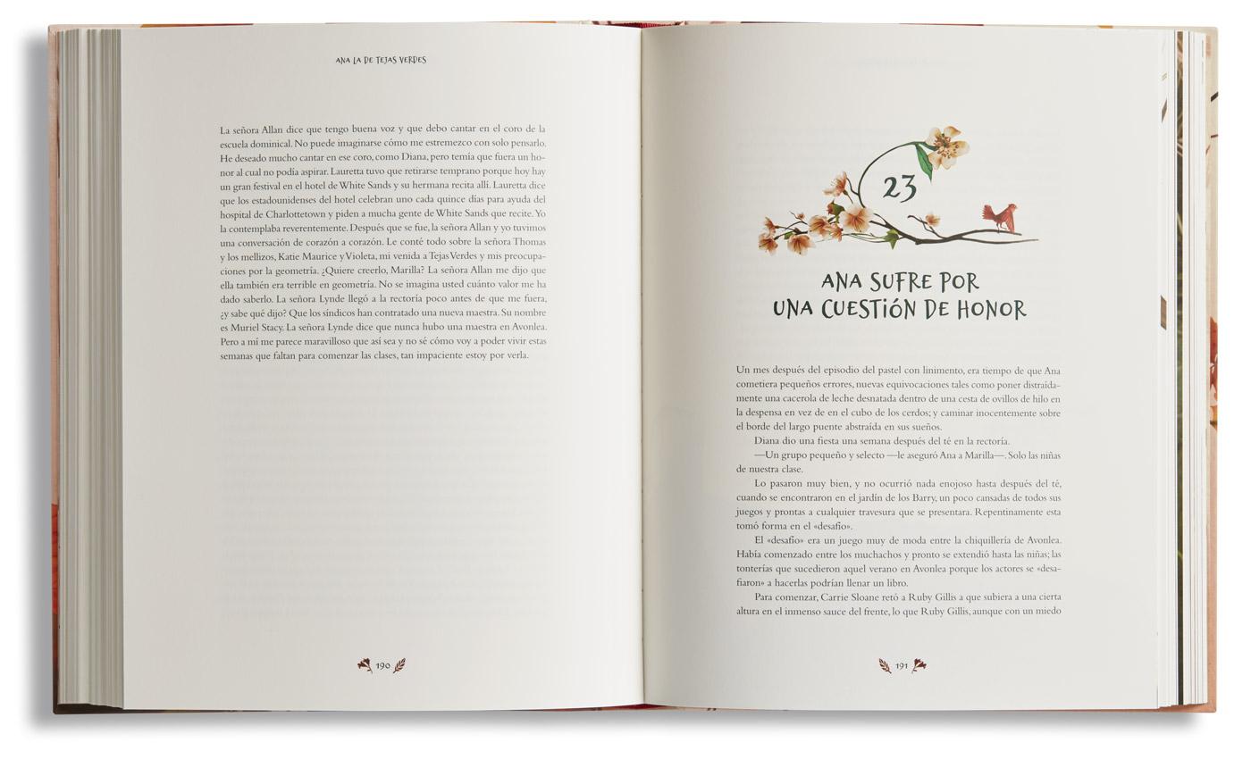 Ana De Las Tejas Verdes Serendipity Libros