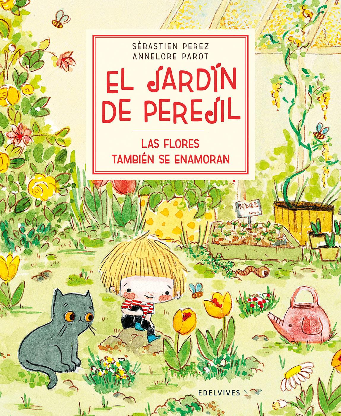 Cubierta libro El Jardín de Perejíl