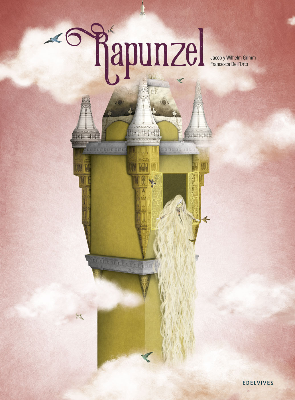 Resultado de imagen de rapunzel cuento edelvives